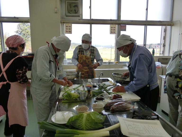 オトコ教室料理①